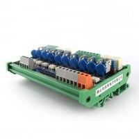 PLC AC amplifier board transistor 10 way AC output original thyristor optocoupler relay isolation control board