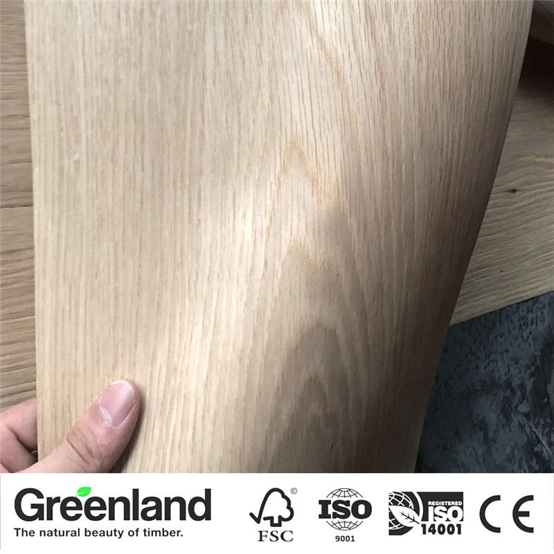 White OAK (Q.C) Wood Veneers Size 250x20 Cm Table Veneer Flooring DIY Furniture Natural Material Bedroom Chair Table Skin