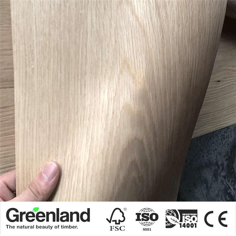 White OAK (Q.C) Wood Veneers Size 250x20 Cm Table Veneer Flooring DIY Furniture Natural Material Bedroom Chair Table Skin