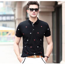 High Quality Men's Clothing Fashion Polo Shirt Short Sleeve Cotton Polo for Summer Brand Polo New 106