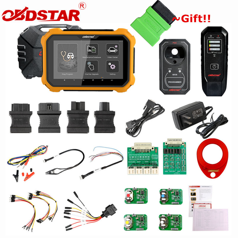 OBDSTAR X300 DP PLUS X300DP PLUS C Package Full Version 8inch Tablet Support ECU Programming and