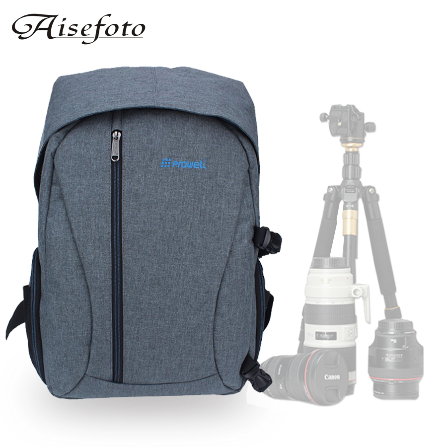 New Linen Camera Backpack Digital Dslr Photo Bag Mochila Fotografia Shoulder Bags Sac Appareil Photography for Nikon Sony Canon free shipping new lowepro mini trekker aw dslr camera photo bag backpack with weather cove