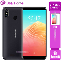 Ulefone S9 Pro 5.5 inch HD+ Android 8.1 MTK6739 Quad Core 2GB RAM 16GB ROM 13MP+5MP Dual Rear Cameras 4G Cellphone