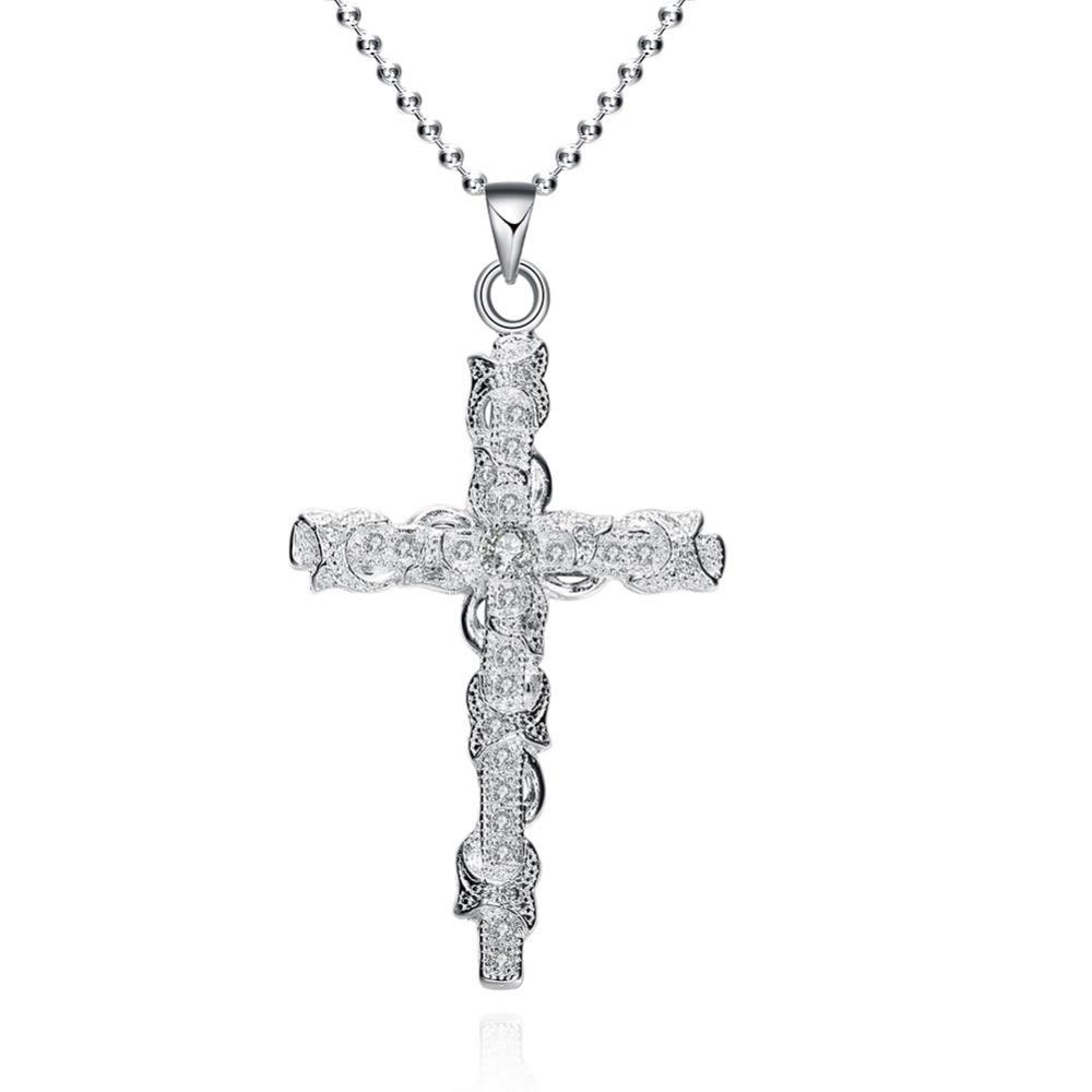 6.2 * 3.3 սմ 925 արծաթյա վզնոց շղթա - Նուրբ զարդեր - Լուսանկար 1