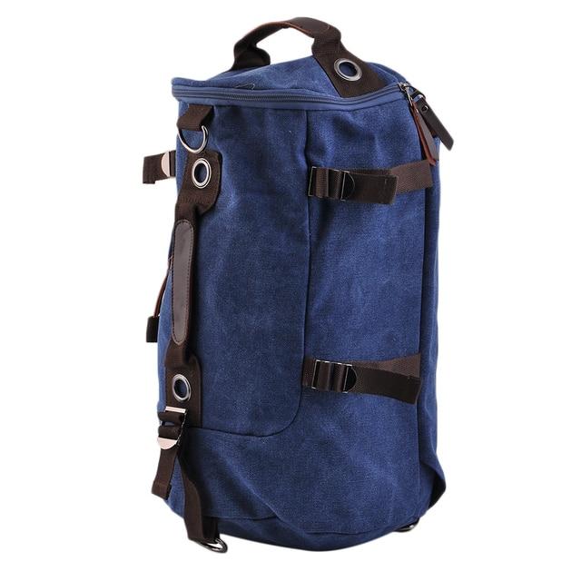 Large Travel Men Rucksack Laptop Zipper Solid Backpack Bag  Shoulder Bag Hot Selling top
