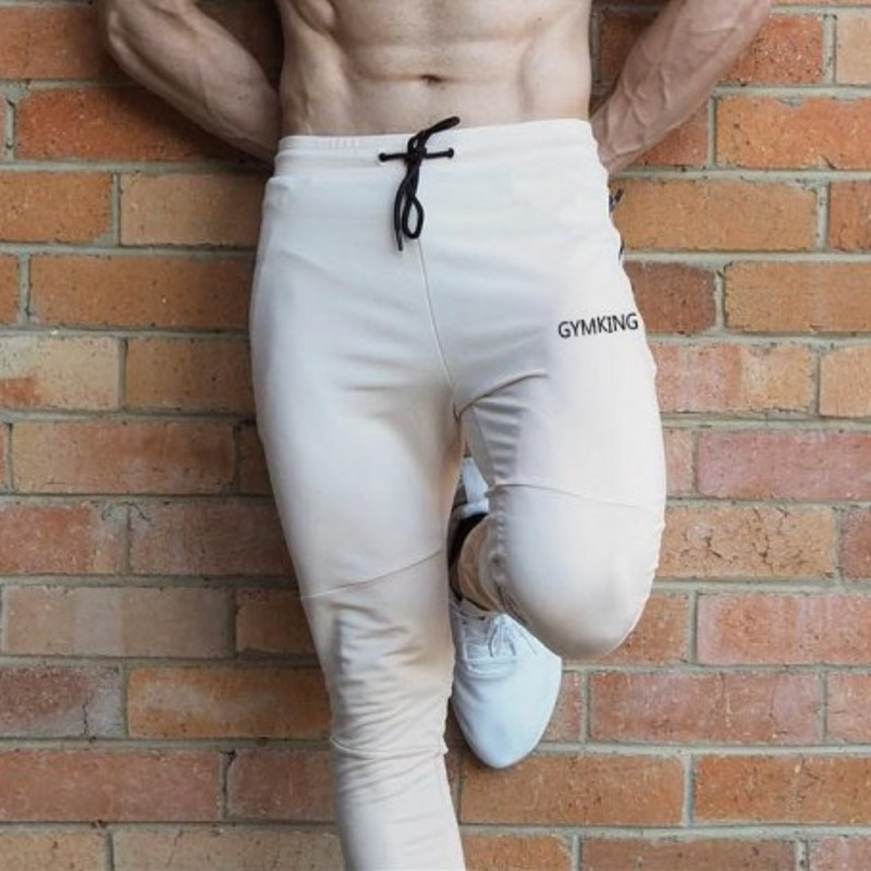 2019 Mens Sweatpants Quick Dry Breathable Pants Men Fitness Tights Joggers Skinny Leggings Men Gyms Sportswear Zipper