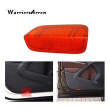 Светильник WarriorsArrow на дверную панель с отражателем красного цвета для VW Jetta MK5 2005-2010 Golf GTI MK5 MK6 MK7 Passat B6 B7 CC EOS 1KD947419