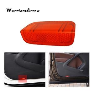 WarriorsArrow Door Panel Light Reflector Red For VW Jetta MK5 2005-2010 Golf GTI MK5 MK6 MK7 Passat B6 B7 CC EOS 1KD947419