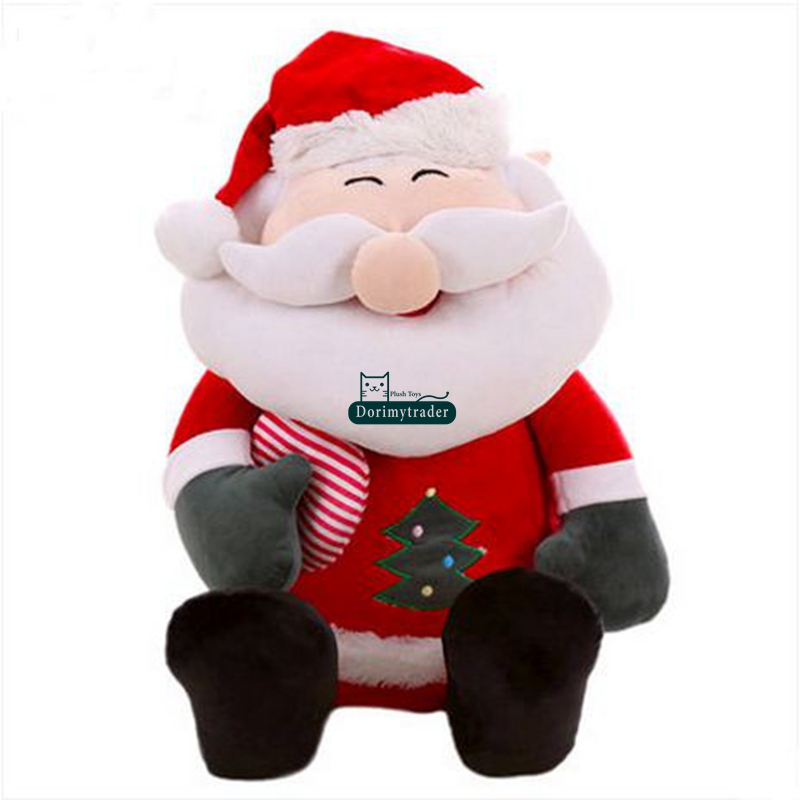 dorimytrader 70cm plush cartoon big santa claus toy 28 giant stuffed christmas gift decoration baby present dy61325 in movies tv from toys hobbies on - Stuffed Santa Claus