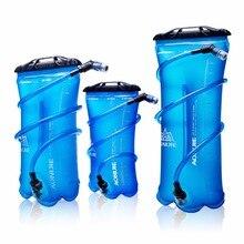 Aonijie тпу воды сумка мужчины женщины открытый спорт гидратации пузыря езда бег отдых складной держатель для воды 1.5l/2l/3l