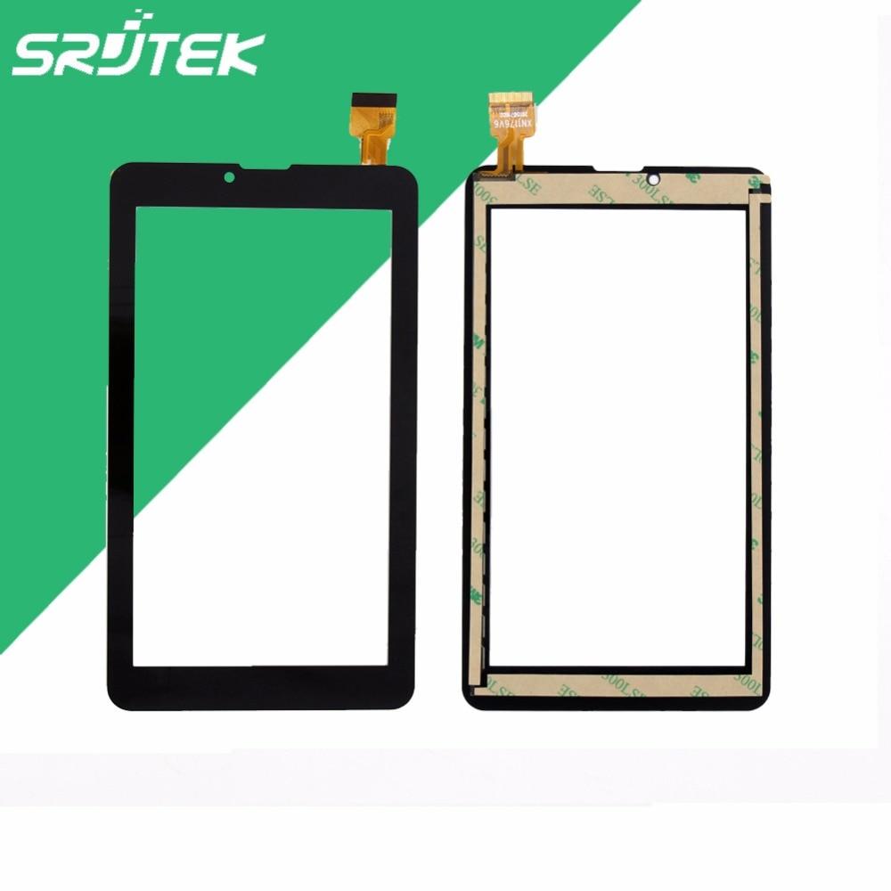 New 7 inch For SUPRA M727G M723G 3G Tablet HS1283A/HS1275 V1 0605 touch screen panel Digitizer Glass Sensor 100% Tested supra hs 410