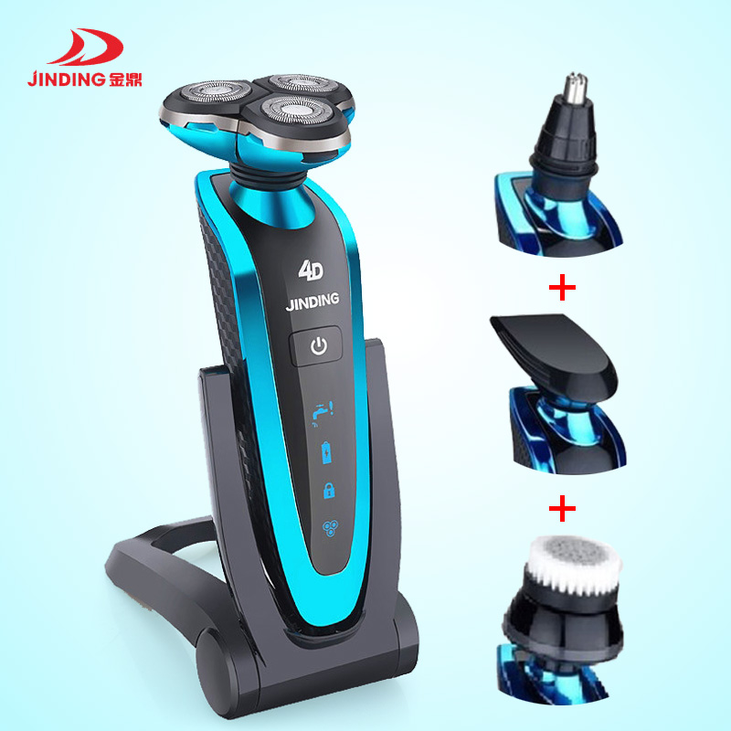5D Floating Heads Electric Shavers Washable Rechargeable razor Men's shaving machine,Beard Use with Nose Trimmer Wireless use brand electric shaving women satety razor shaver washable wet and dry use high quality powerful electric home and travel use