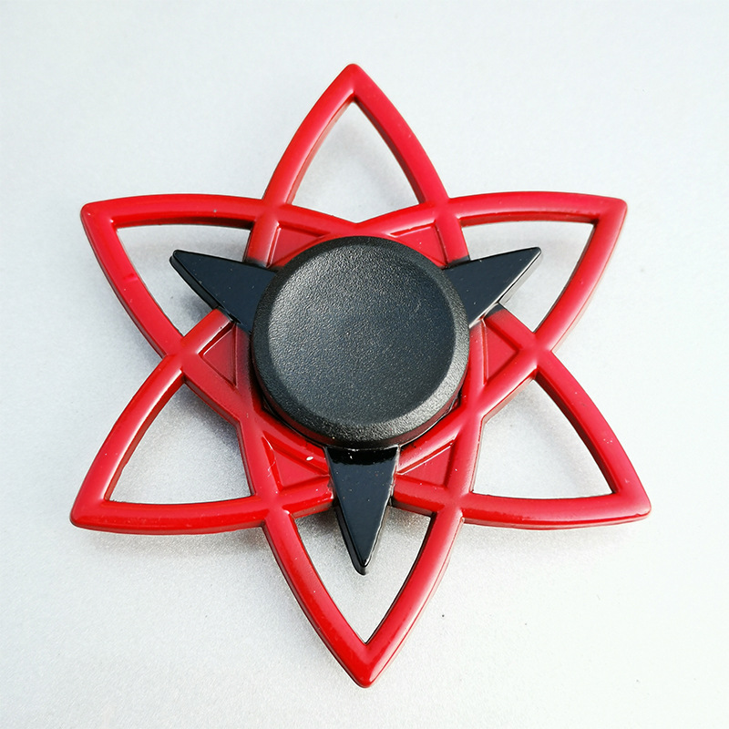 Fidget Hand Spinner Gyro Cartoon anime Ninja metal Zinc alloy cool toy kids gift