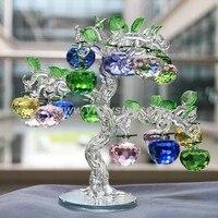 K9 с украшением в виде кристаллов рождественское яблоко дерево домашний декоративный разрез с украшением в виде кристаллов Стекло для подар