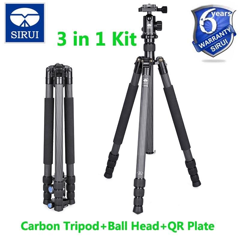 Sirui Трипод для SLR Камера крепление + шаровой головкой для путешествий цифровой Камера нога штатив для цифровой зеркальной камеры свет Вес 3 к