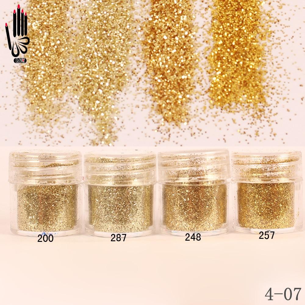 Rational 1 Glas/box 10 Ml Nagel 4 Champaign Gold Farbe Nagel Glitter Feines Pulver Für Nail Art Dekoration Optional 300 Farben Fabrik 4-07 Nails Art & Werkzeuge Schönheit & Gesundheit