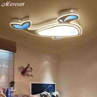 Modern Led Ceiling Lights For Living Room Study Room Bedroom Home Dec AC85 265V Lamparas De