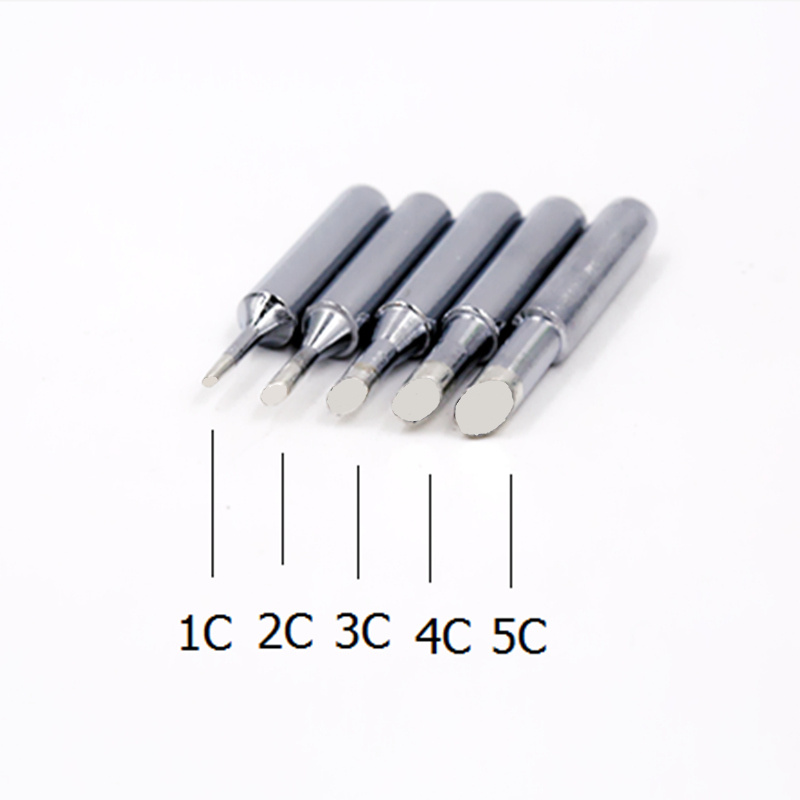 SZBFT Solder Iron Tips 900M-T-1C,2C,3C,4C,5C Series For Hakko 936 Soldering Rework Station Free Shipping
