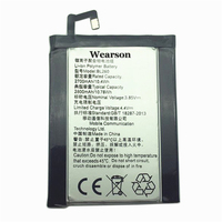 Wearson BL260 Battery For Lenovo Vibe S1 Lite Battery 2700mAh 2800mAh Free Shipping With Tracking Number
