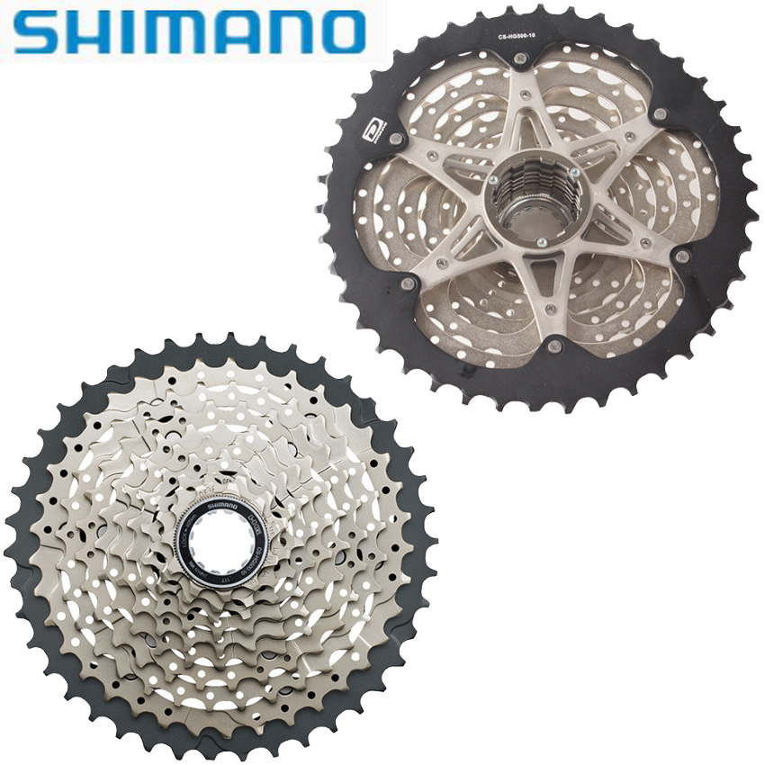 10 Speed SHIMANO DEORE HG-500-10 11-42t Bicycle Free Wheel Cassette M6000 MTB cassette 10 velocidade Mountain Bike Parts 10 speed cassette 11 42t gold mtb cassette 10 speed fit for mountain bike road bicycle mtb bmx sram shimano