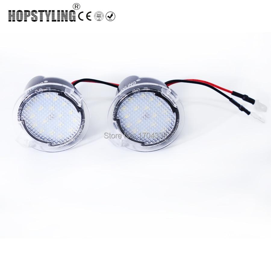 Hopstyling 2x For Ford LED Под зеркалом Лампа - Автомобильные фары - Фотография 5