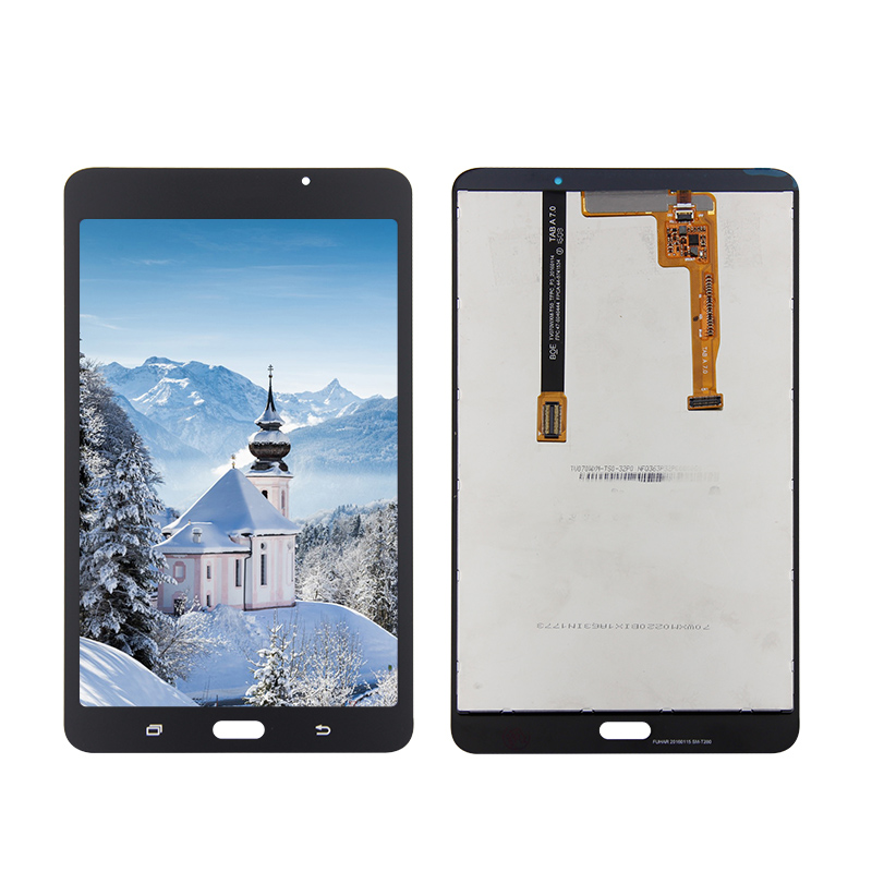 For Samsung Galaxy Tab A 7.0 2016 SM-T280 T280 LCD Display Digitizer Touch Panel Sensor Assembly new for samsung galaxy tab a 7 0 2016 sm t280 sm t285 t280 t285 lcd display touch screen digitizer assembly tablet pc parts