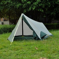 Double layer single person super light outdoor camping tent tourist tent sun shelter beach tent gazebo tent for camping