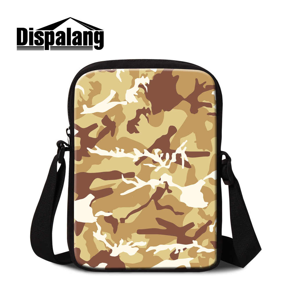68711ae812e Detail Feedback Questions about Dispalang Name Brand Small Messenger Bags  for Men Low Price Mini Side Bags Popular Cross Body Bags Print Camouflage  Pattern ...
