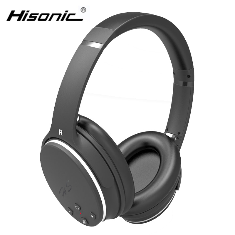 Hisonic Wireless Bluetooth headphone 4.0V Stereo Foldable Earbuds Microphone Headset Earphone Cordless Auriculares Audifonos
