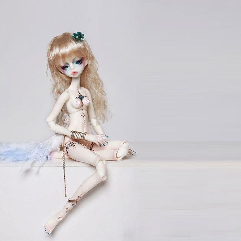 ФОТО OUENEIFS Doll-chateau dc zora 1/6 bjd resin body model reborn baby girls boys dolls eyes High Quality toys shop make up