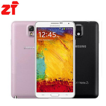 "Original Samsung Galaxy Note 3 N9005 3G RAM 16G ROM 5.7"" Android Mobile Phone Quad Core 13MP Camera Free Shipping"