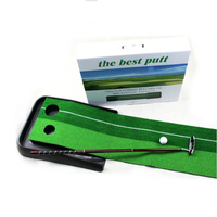 200cm 25cm Golf Putter Trainer Indoor Putting Practise Mat Golf Gifts