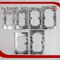 Precisão molde de metal de alumínio para xiaomi miui 3 quadro fixador molde alinhamento refurbish quebrado tela de vidro não é fácil de deformação