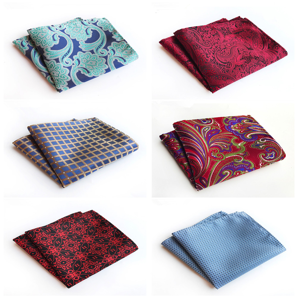 2019 Unique Design Fashion Suit Pocket Towel Fashion Explosion Models Polyester Men's Formalwear Retro Handkerchief Pocket Towel