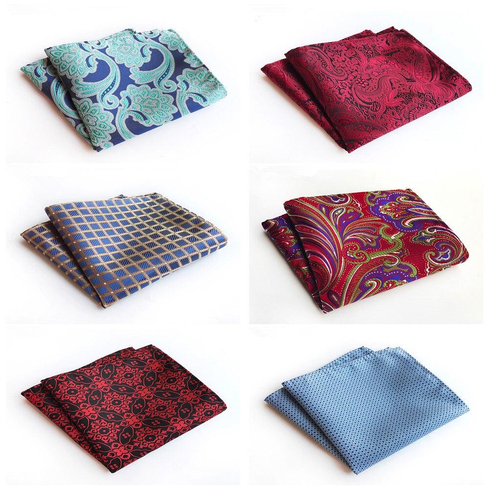 2020 Unique Design Fashion Suit Pocket Towel Fashion Explosion Models Polyester Men's Formalwear Retro Handkerchief Pocket Towel