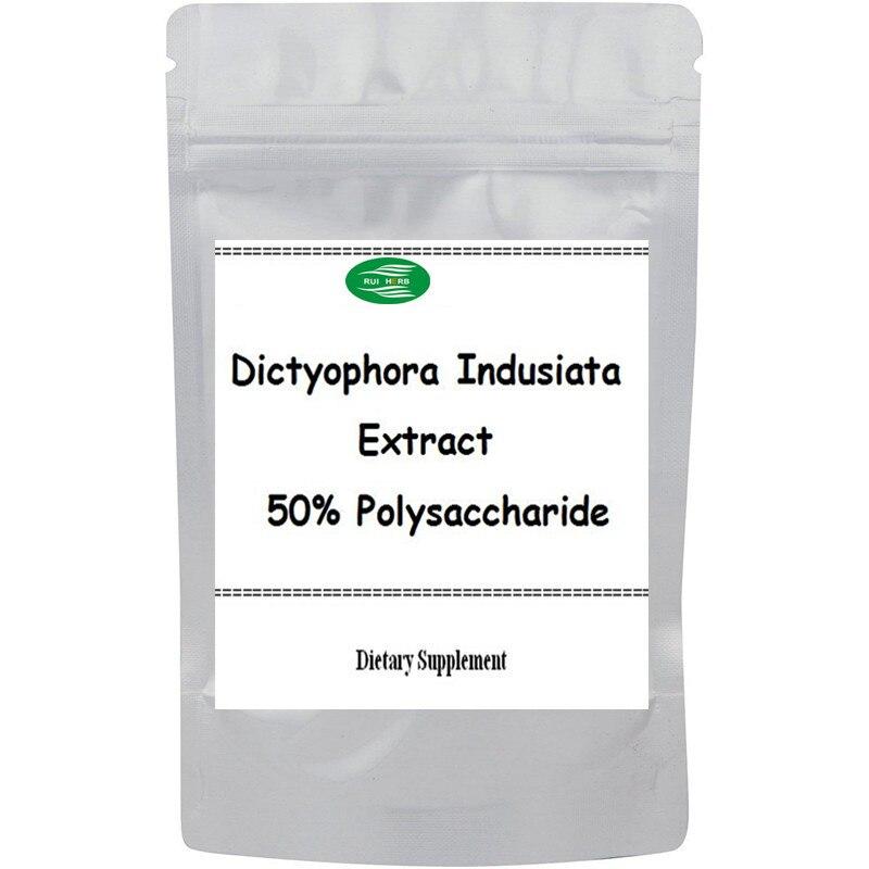 500gram, 17.6oz Dictyophora Indusiata Extract 50% Polysaccharide Powder bulk powder pure green coffee bean extract 50