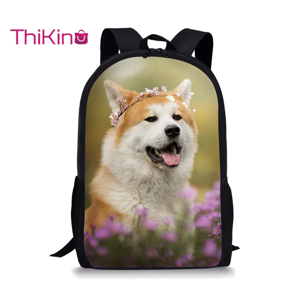 Thikin Cute Animals  Backpack for Businessman Fashion Travel Teenagers Practical and Colorful Business Bag