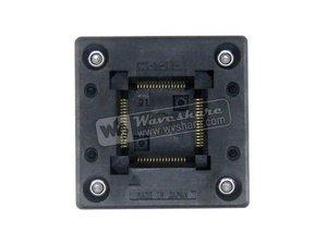 Image 1 - QFP64 TQFP64 LQFP64 PQFP64 OTQ 64 0.5 01 Enplas QFP IC Test Burn In Socket 0.5mm Pitch