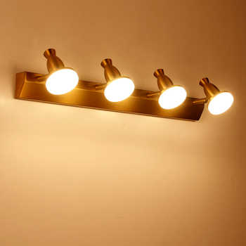 Zerouno modern vanity light bathroom fixtures for home LED Wall Lamp Sconce Indoor dressing Mirror lighting Aluminum Acryl Lamps - DISCOUNT ITEM  40% OFF All Category