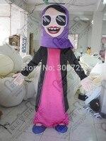 Экспорт высокого качества фиолетовый платок арабская женщина маскарадный костюм