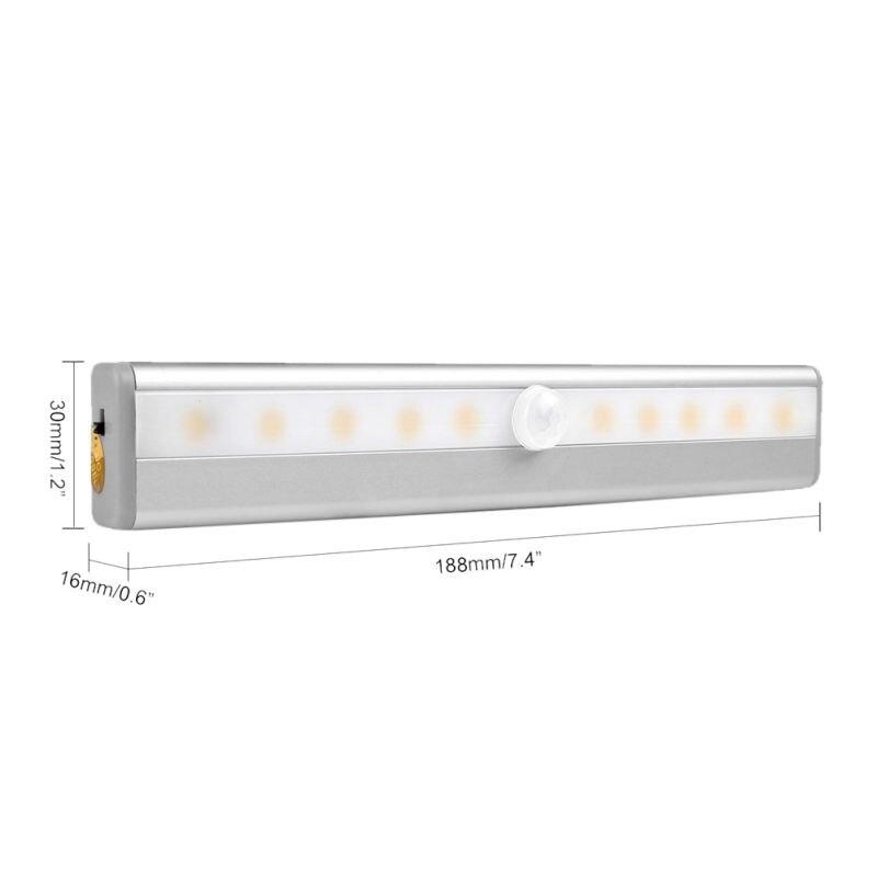 Luzes da Noite roupeiro armário de iluminação sensor Formato : Other