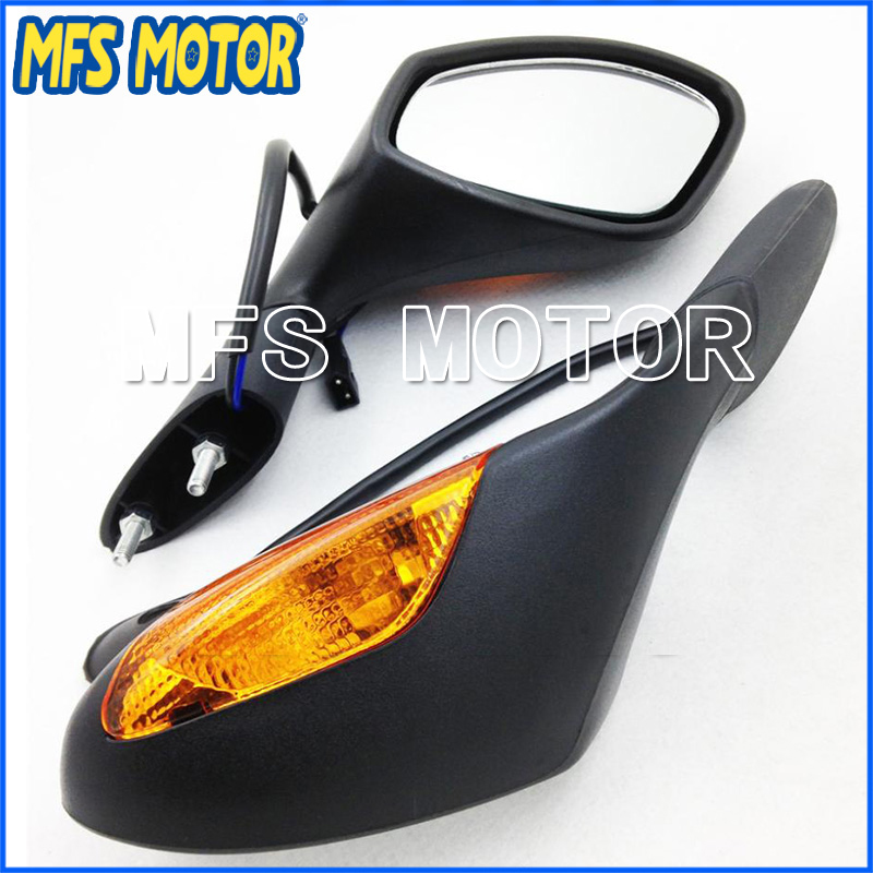 Quality Motorcycle Part Rearview Mirrors For Aprilia 2004-2008 RSV 1000 2004-2007 RSV Mille/ R