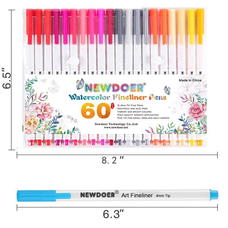 12 Marcador De Acrílico Pen Set Montana CANS 2MM conjunto de color Marcadores Fino-C