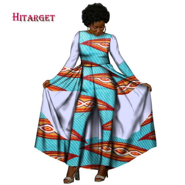hitarget 2017 autumn african design bazin elegant womens long