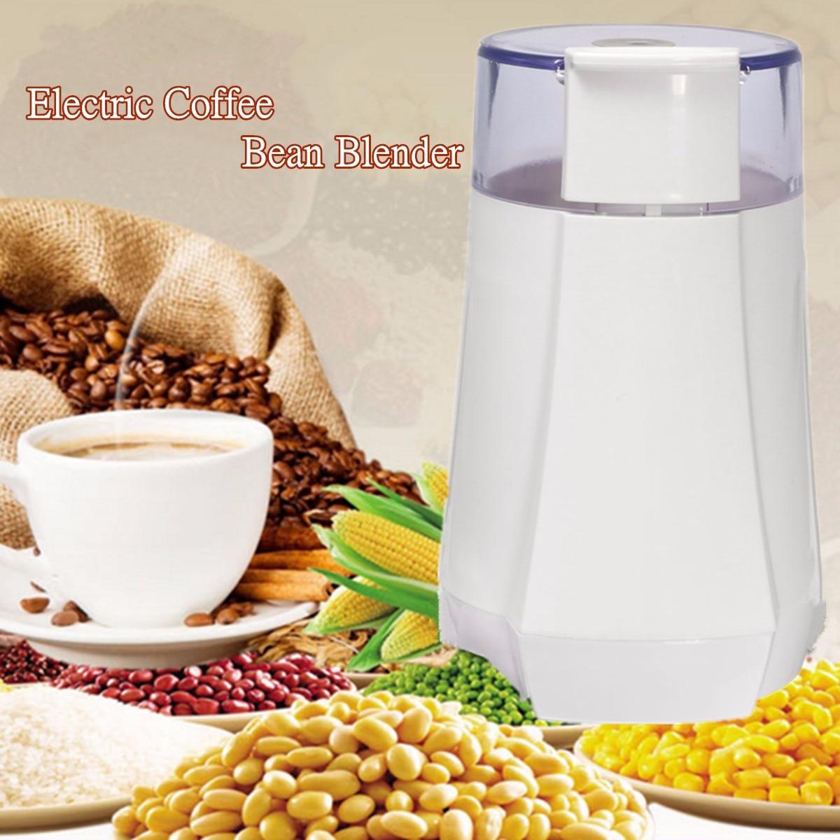 80W 220-240V Stainless Steel Coffee Grinder Electric Coffee Bean/Herbs/Spices/Nuts/Grains Grinding Machine Blade Grinder