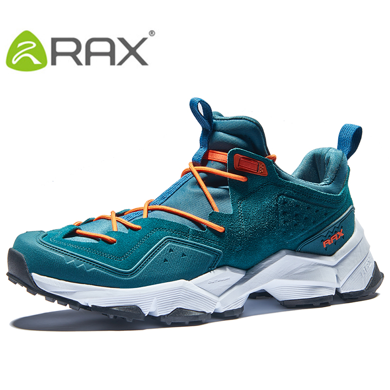 RAX Men s Leather Breathable Outdoor Hiking Shoes Trial Trekking Backpacking Climbing Shoes Mountainering Shoes For