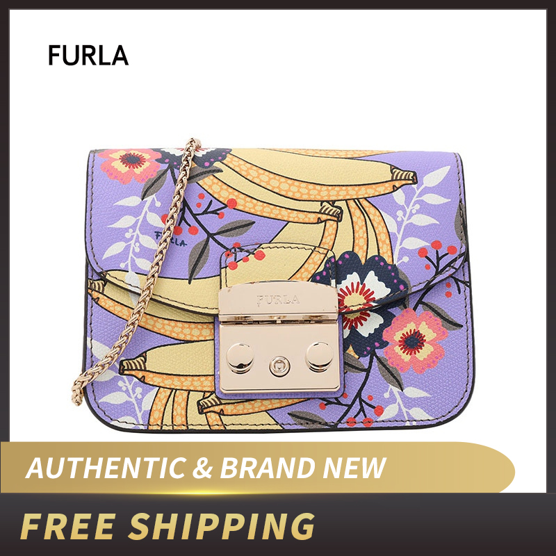 Authentic Original & Brand new Furla Metropolis Mini Crossbody Women's Bag Message Toni Leather BGZ7/BNA4