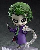 Batman Action Figure Nendoroid Joker Figures 100mm Nendoroid 566 Bat Man Model Toys Movie The Dark