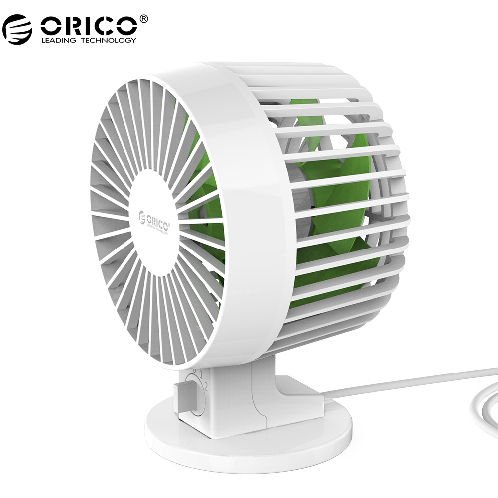 ORICO USB Fan Flexible USB Portable Mini Fan with Key Switch Angle adjustabl for Notebook Laptop Computer Power -White(UF1-WH )  portable flexible fan adjustable angle mini usb cooling fan usb cooler for laptop desktop pc computer low power