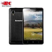 """Nouveau 100% D'origine Lenovo P780 Android 4.4 MTK6589 Quad Core 4 GB ROM 5.0 """"HD 1280×720 WCDMA GPS OTG 4000 mAh Russe Téléphones Cellulaires"""